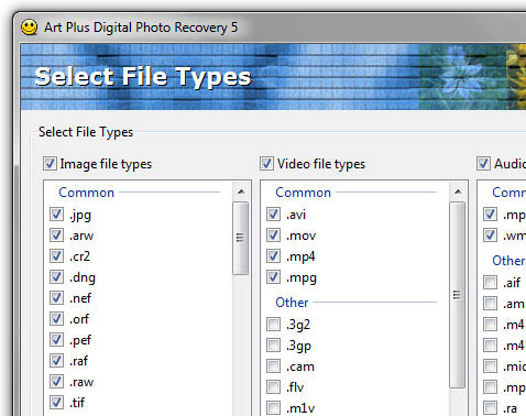 Screenshot für ArtPlus Digital Photo Recovery