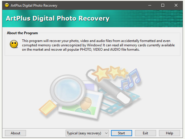 Art Plus Digital Photo Recovery
