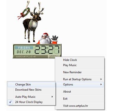 Screenshot für Funny Clocks